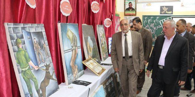رئيس البلدية يشارك في حفل إحياء ذكرى يوم الأسير الفلسطيني