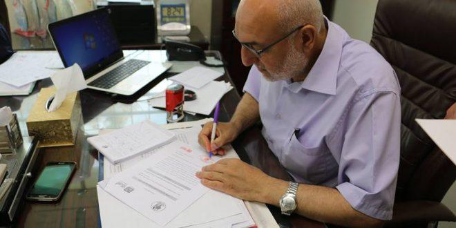 البلدية توقع مذكرة تفاهم مع مؤسسة التعاون لإنشاء مشروع البيارة