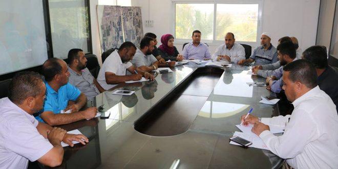 تخطيط وتنظيم عزبة بيت حانون الحكومية