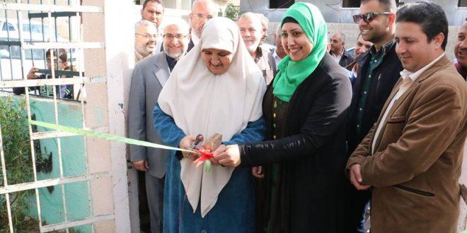 بعد إعادة تأهيله وتركيب ألعاب للأطفال … البلدية تفتتح منتزه أبو غزالة في المدينة